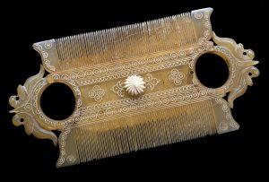 Peine para Piojos Doble, India 1801-1900