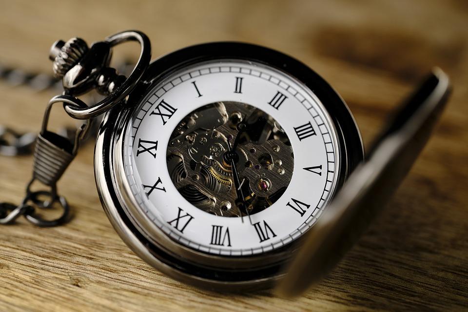 Tiempo. Reloj de bolsillo