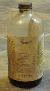 Vieja botella de DDT