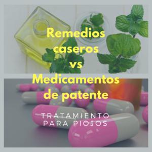 Remedios caseros vs Medicamentos de patente