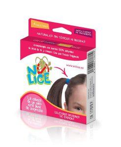 Ligas para el cabello con aceites esenciales