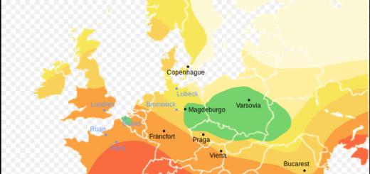 Propagación de la Peste Negra en Europa