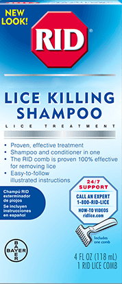 RID® Lice Killing Shampoo - BAYER
